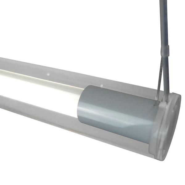 Design-lamp-Voedingsdraad-aan-Transparante-buis