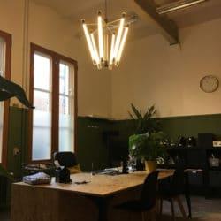 Moderne-Kroonluchter-Kantoorverlichting