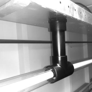 Koppelbare-Design-lamp-Zwart-koppelstuk