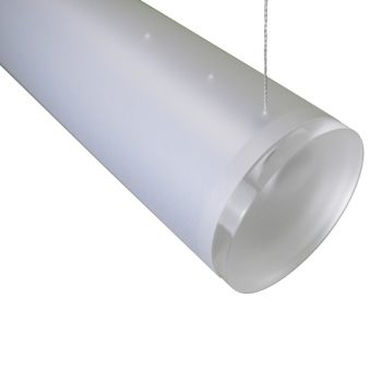 Robuuste lamp 90-mm gedeeltelijke lengte staaldraad